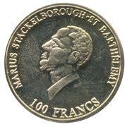 100 Francs / 100 Daler – obverse