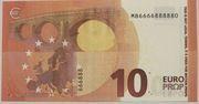 10 euros - Movie Money (Europa series) – reverse
