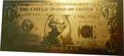 1 Dollar (gold plated) – obverse