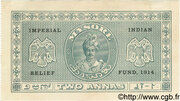 2 Annas (donation receipts of the Imperial Indian Relief Fund) – obverse