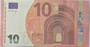 10 euros - Prop Copy (Europa series) – obverse