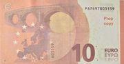 10 euros - Prop Copy (Europa series) – reverse