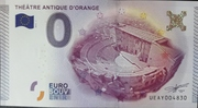 0 Euro Orange (Theatre antique) – obverse