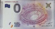 0 Euro Arles (Arènes d') – obverse