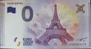 0 Euro PARIS (La Tour Eiffel) – obverse