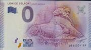 0 Euro BELFORT (Lion de ) – obverse