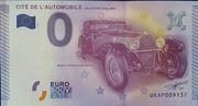 0 Euro MULHOUSE (Cité de l'automobile) – obverse