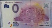 0 Euro CHÂTEAU DE CHAMBORD – obverse