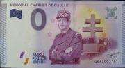 0 Euro MÉMORIAL CHARLES DE GAULLE – obverse