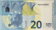 20 euros - Movie Money (série Europa) – reverse