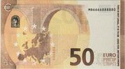 50 euros - Movie Money (série Europa) – reverse