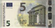 5 euros - Movie Money (série Europa) – obverse