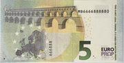 5 euros - Movie Money (série Europa) – reverse