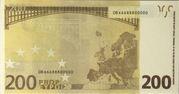200 euros - Movie Money (première série) – reverse