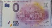 0 Euro (Château royal de Collioure) – obverse