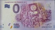 0 Euro (CHAMPIONS DE FRANCE 2017) – obverse