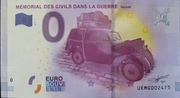 0 Euro (LE MÉMORIAL DES CIVILS DANS LA GUERRE FALAISE) – obverse