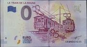 0 Euro (LE TRAIN DE LA RHUNE) – obverse