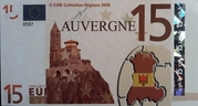 15 Euros (Auvergne) – obverse