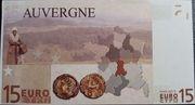 15 Euros (Auvergne) – reverse