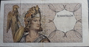 Échantillon type Athéna à gauche - 100 Francs DELACROIX – obverse