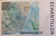 Échantillon type RAVEL (Francs) – reverse
