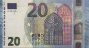 20 euros - Prop Copy (série Europa) – obverse