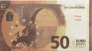 50 euros - Prop Copy (série Europa) – reverse