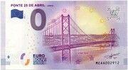 Lisboa (Ponte 25 de Abril) – obverse