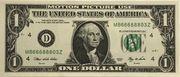 1 dollar - Movie money – obverse
