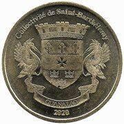 1 Franc (Irish Red Setter) – obverse