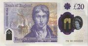 20 Poond - Movie Money (20 Pounds JWM Turner) – reverse