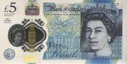 5 Poond - Movie Money (5 Pounds Winston Churchill) – obverse