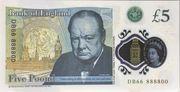 5 Poond - Movie Money (5 Pounds Winston Churchill) – reverse