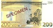 200 EURO SPECIMEN GRECE – reverse