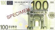 100 EURO SPECIMEN GRECE – obverse