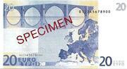 20 EURO SPECIMEN GRECE – reverse