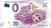 0 EURO BELGIAN FOOTBALL CENTER – obverse