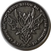 Silver Sertus (Anne  Stokes Age of Dragons Coin Series) – reverse