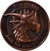 Copper Mitas (Anne  Stokes Age of Dragons Coin Series) – obverse