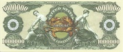 One Million Dollars (Zodiac; Cancer) – reverse