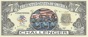 7 Dollars (Space Shuttle Challenger) – obverse