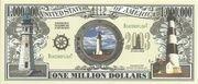 1 Million Dollars (Lighthouse) – obverse