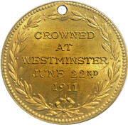 Medal - King George V & Queen Mary Coronation (Westminster) -  obverse