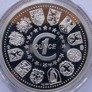 1 oz Silver (Guten Morgen Europa!) – reverse