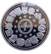 1 oz Silver (Bon Dia Europa!) – reverse