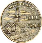 1 ECU (Texel) – obverse