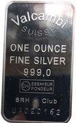 1 oz Silver (Valcambi) – obverse