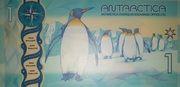 Antarctique - 1 Dollar - Antarctica Overseas Exchange Office LTD. – reverse