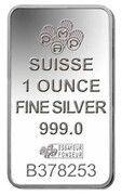 1 oz Silver (PAMP - Lady Fortuna) – reverse